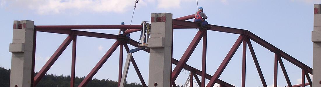 Stahlbau: Fa. Düker, Laufach