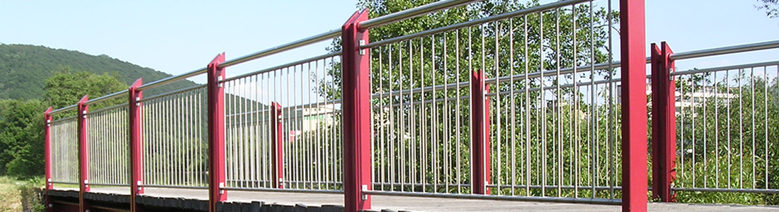 Stahlbau: Fahrrad- und Fußgängerbrücke, Hasloch