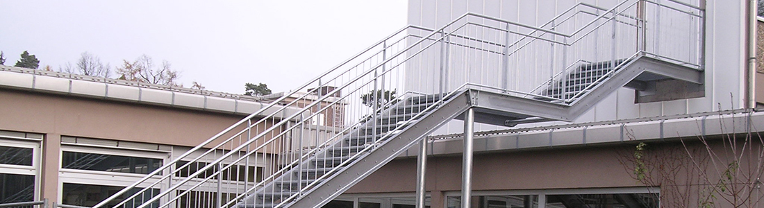 Stahlbau: Schule, Haibach